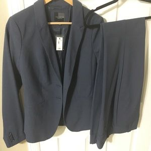 TALL Navy Suit The Limited